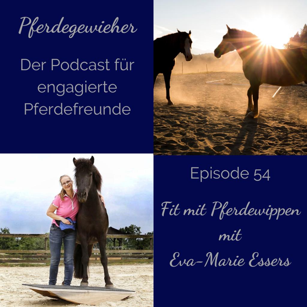 Podcast Pferdewippe Pferd auf Wippe Eva-Marie Essers